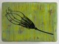 Clock Series - Seed Head Green