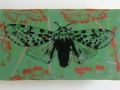 Clock Series - Moth with Green